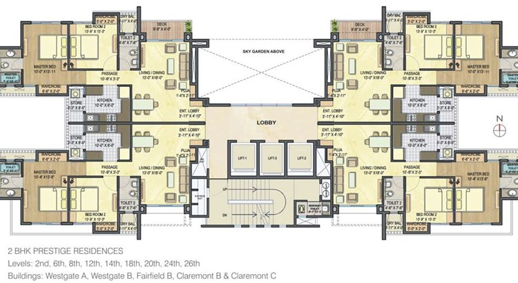 Lodha Luxuria floor plan 6