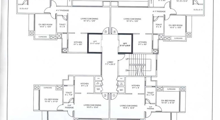 Runwal Pearl  Floor Plan