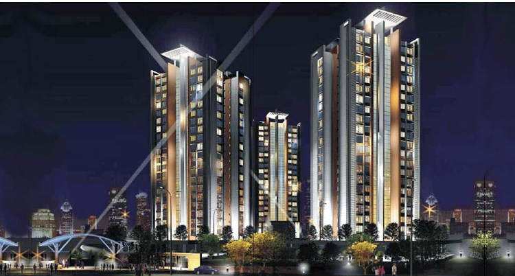 Runwal Pearl  Night View