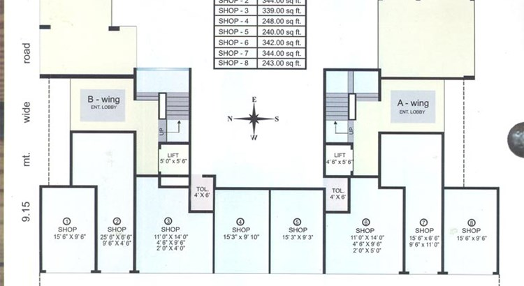 Pradnya CHS  Ground Floor Plan