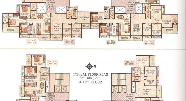 Bhoomi Heights Floor Plan