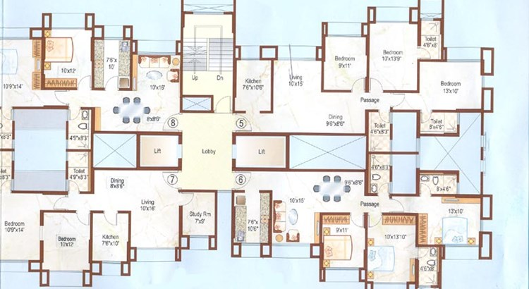 Dosti Florentine Floor Plan Part II