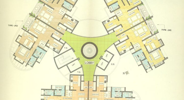 Vraj Green Valley Floor Plan I