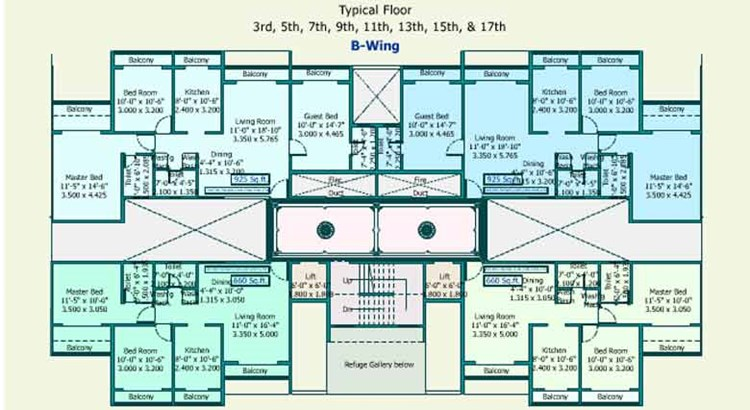 Sea Queen Excellency Floor Plan IV
