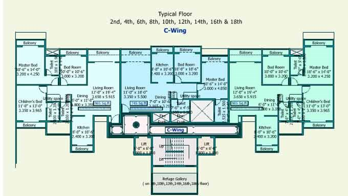 Sea Queen Excellency Floor Plan V