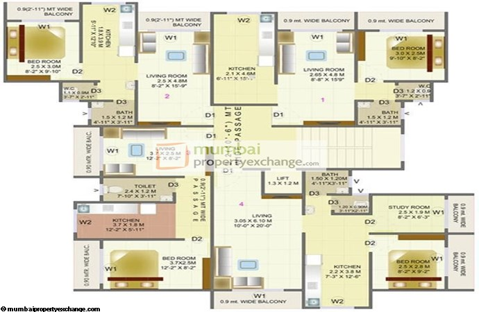 Sudarshan Heights Floor Plan