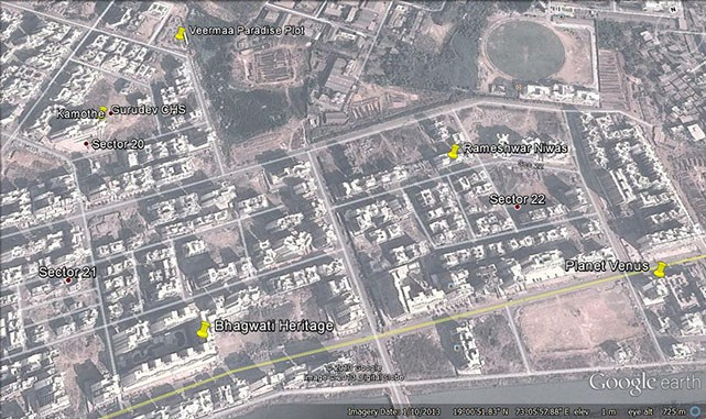 Bhagwati Heritage Google Earth