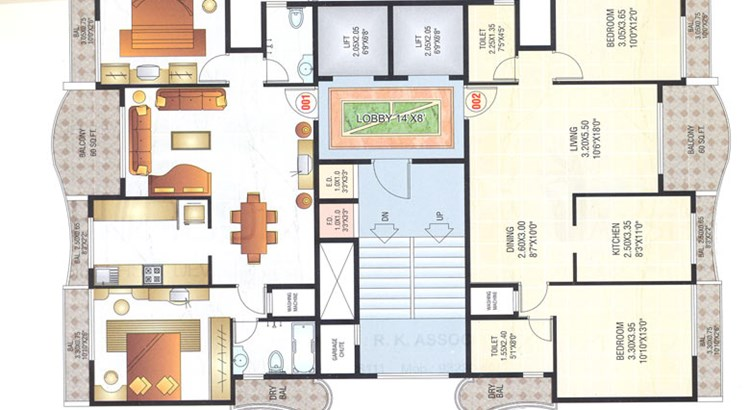 Siddhi Height Floor Plan II