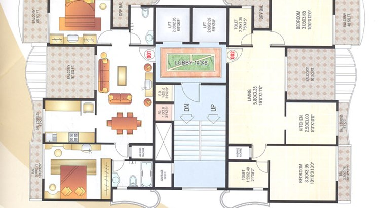 Siddhi Height Floor Plan III