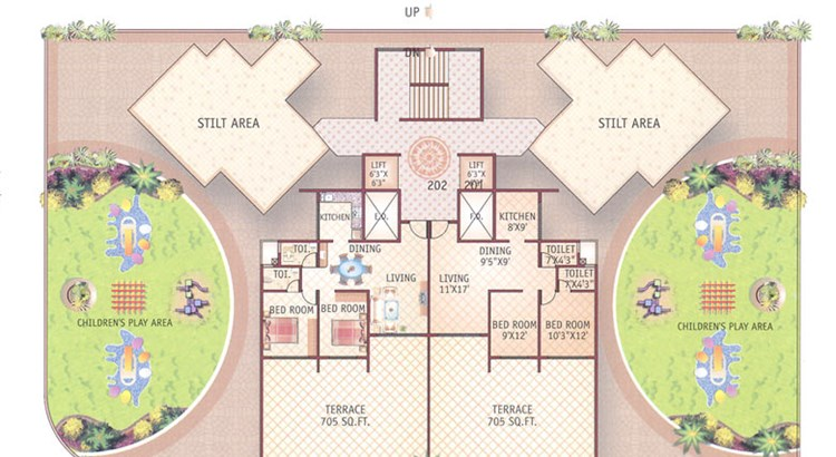 Bhoomi Pinnacle Floor Plan II