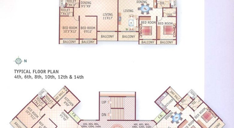 Bhoomi Pinnacle Ground Floor Plan