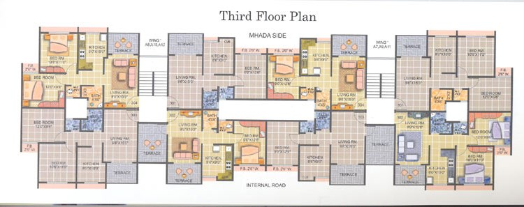 Royal Park Floor Plan I