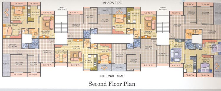 Royal Park Floor Plan II