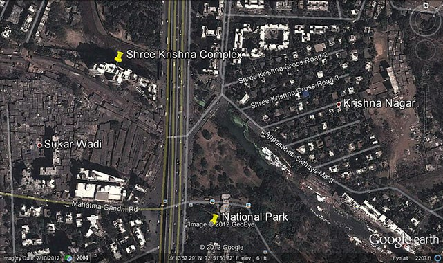 Shree Krishna Complex Google Earth