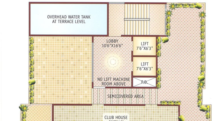 Ishwar Legacy Terrace Floor Plan
