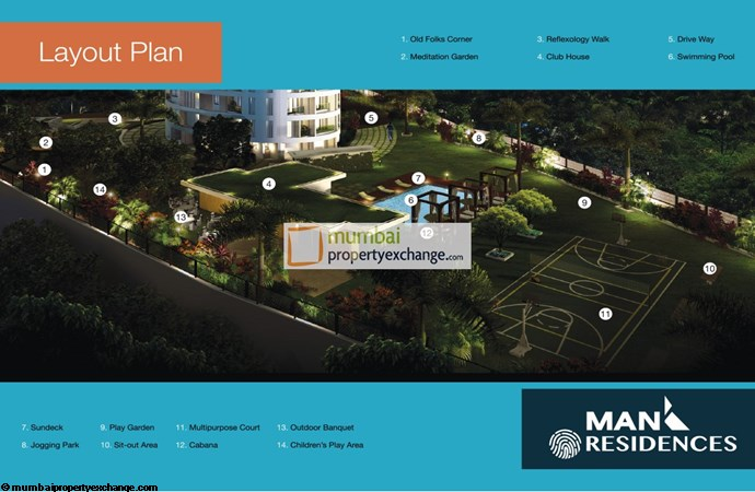 Man Residences Layout