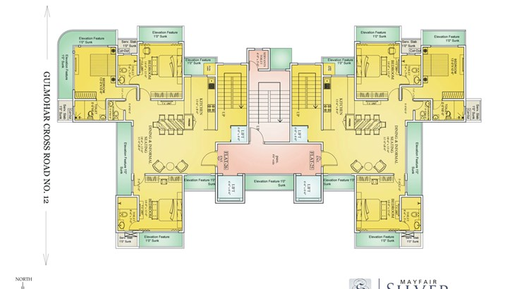 Mayfair Silver Floor Plan 3