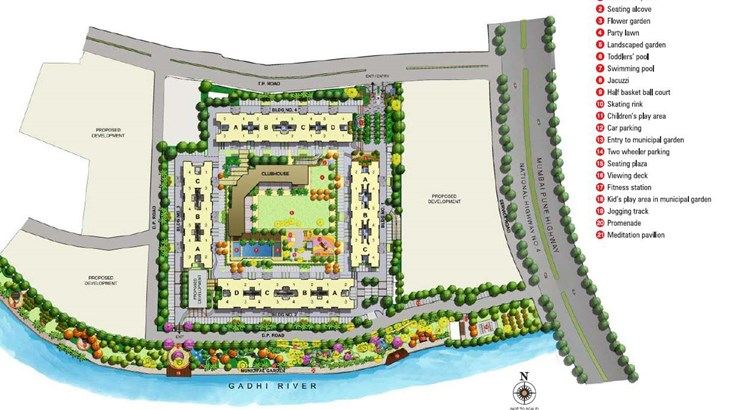 Kalpataru Riverside Layout Plan