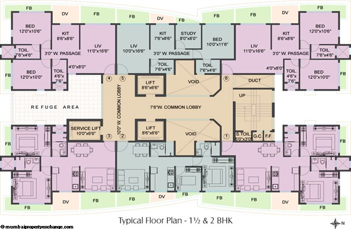 Viceroy Park Floor Plan Tower B