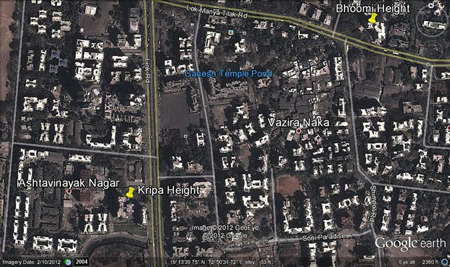 Kripa Heights Google Earth