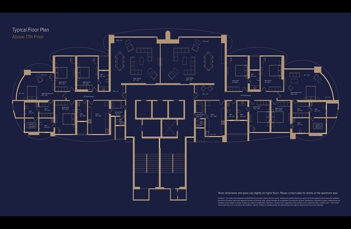 Marathon Monte Carlo Monte Carlo Typical Floor Plan