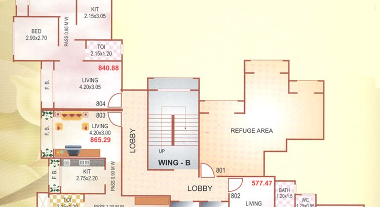 Nalanda Co-op Society Floor Plan II