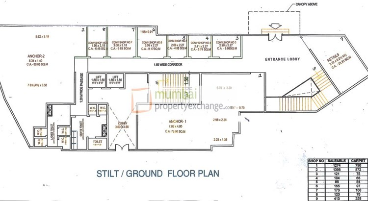 Trinity Co Op Floor Plan I