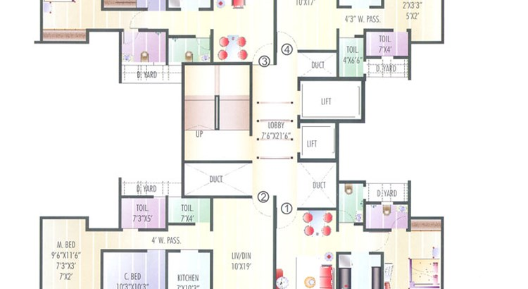 Coral Heights Floor Plan III