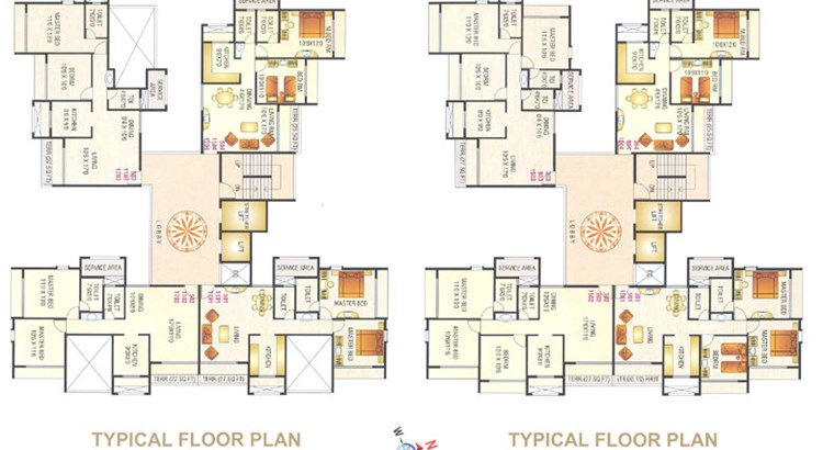 Millenium Avanish  Floor Plan