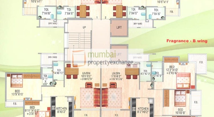 Garden City Phase I Floor Plan I