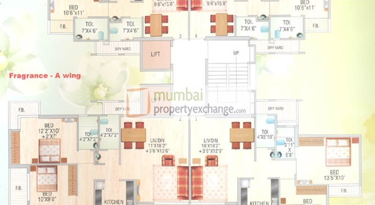Garden City Phase I Floor Plan III