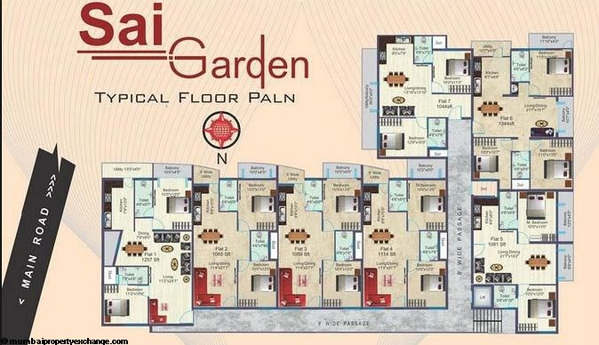 Sai Garden  Floor plan