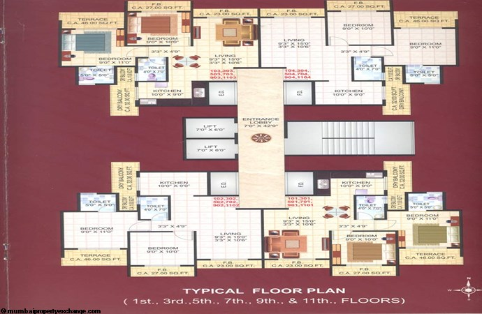 Green Height Floor Plan