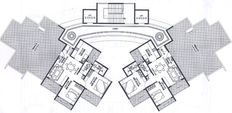 Shankar Residency Floor Plan