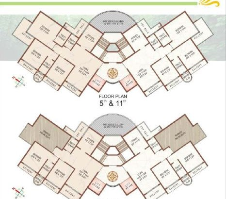 Solitaire Floor Plan