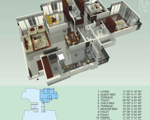 Empire Estate Floor Plan 10