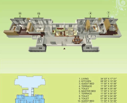 Empire Estate Floor Plan 11