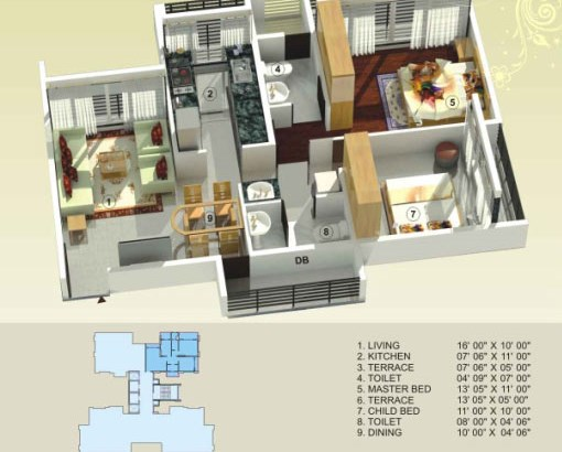 Empire Estate Floor Plan 2