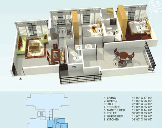 Empire Estate Floor Plan 4