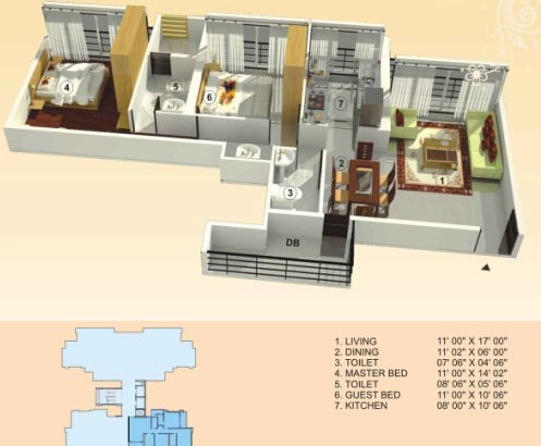 Empire Estate Floor Plan 5