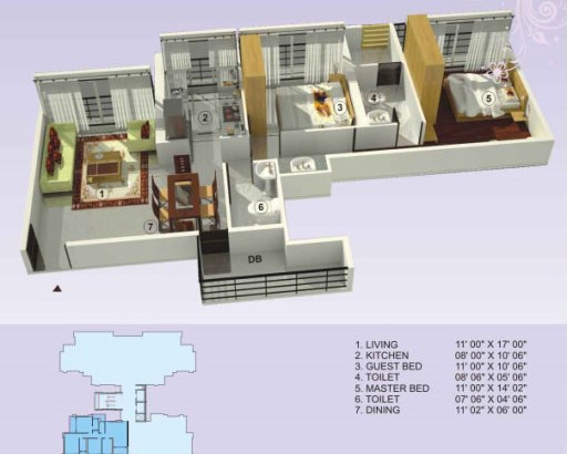 Empire Estate Floor Plan 6