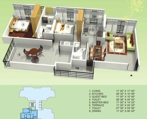 Empire Estate Floor Plan 7