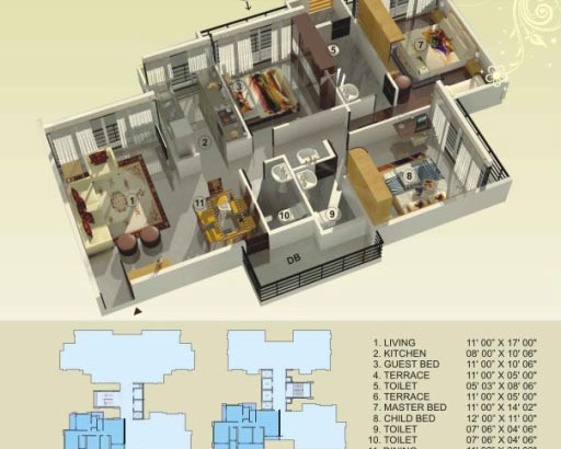 Empire Estate Floor Plan 8