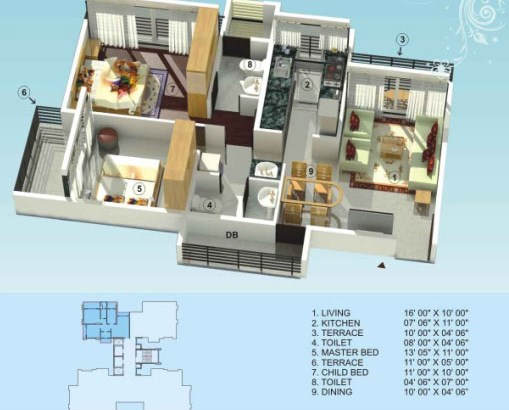 Empire Estate Floor Plan 9