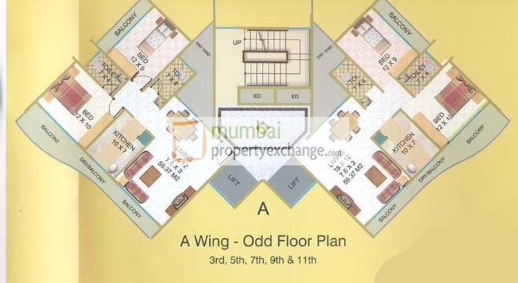 Elite Heights Odd Floor Plan