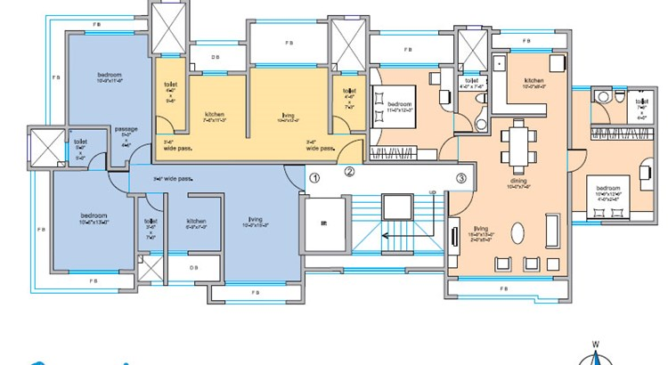 Om Sai Floor Plan I