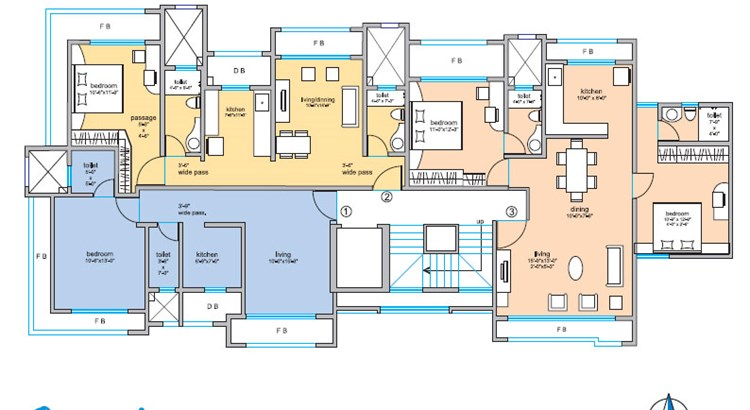 Om Sai Floor Plan II