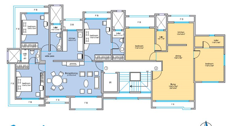 Om Sai Floor Plan IV
