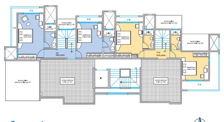 Om Sai Floor Plan V