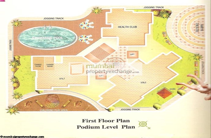 Giriraj Tower Layout Plan